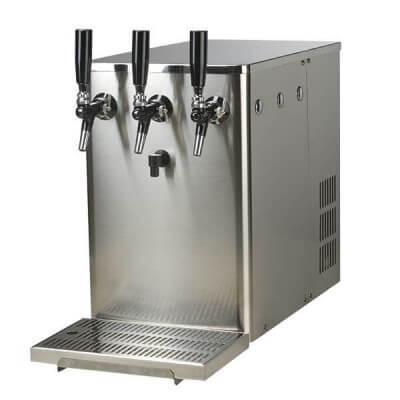 מתקן סודה ומים קרים מקצועי על דלפקי - נפטון לוקס